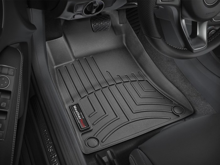 WeatherTech DigitalFit Floor Mats for Mercedes-Benz [Covers Front, Black] (WEA95315)