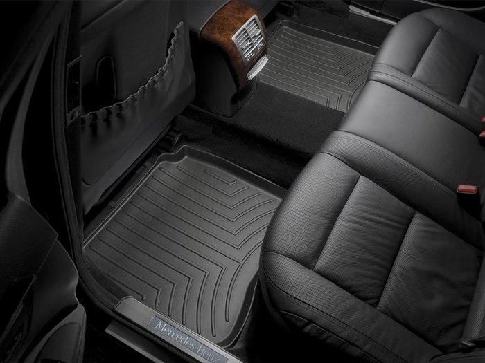 WeatherTech DigitalFit Floor Mats for Mercedes-Benz [Covers Rear, Black] (WEA94639)