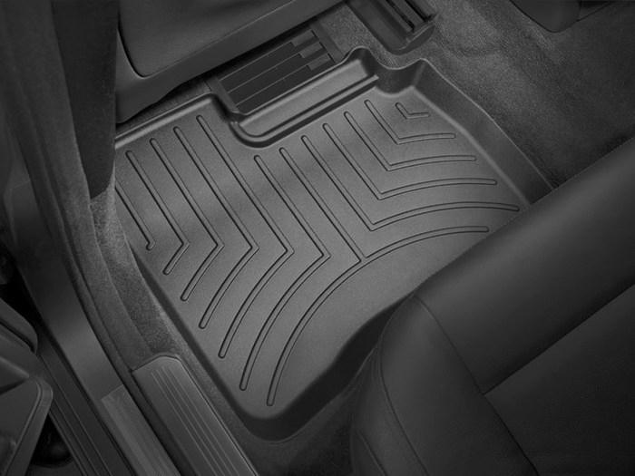 WeatherTech DigitalFit Floor Mats for Mercedes-Benz [Covers Rear, Black] (WEA94640)