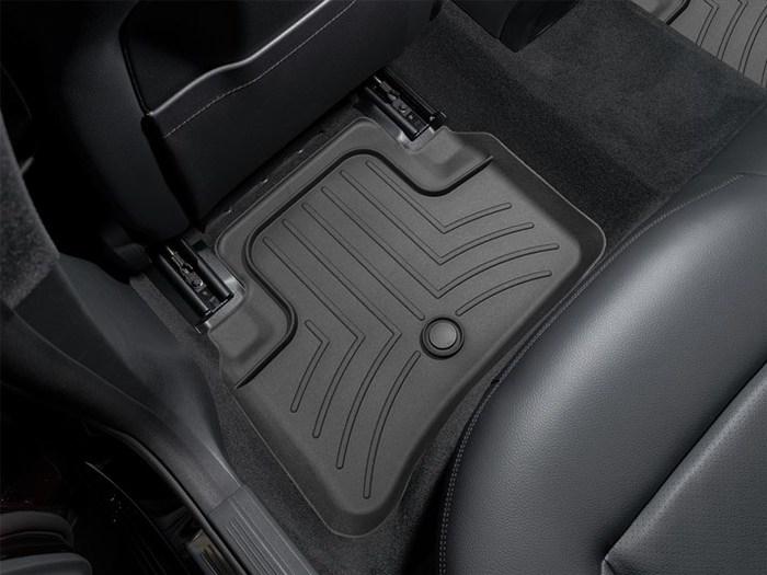 WeatherTech DigitalFit Floor Mats for Mercedes-Benz [Covers Rear, Black] (WEA94654)