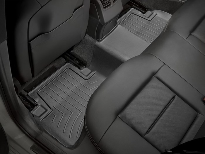 WeatherTech DigitalFit Floor Mats for Mercedes-Benz [Covers Rear, Black] (WEA94655)
