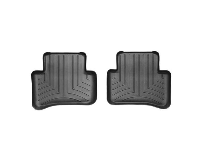 WeatherTech DigitalFit Floor Mats for Mercedes-Benz [Covers Rear, Black] (WEA94668)