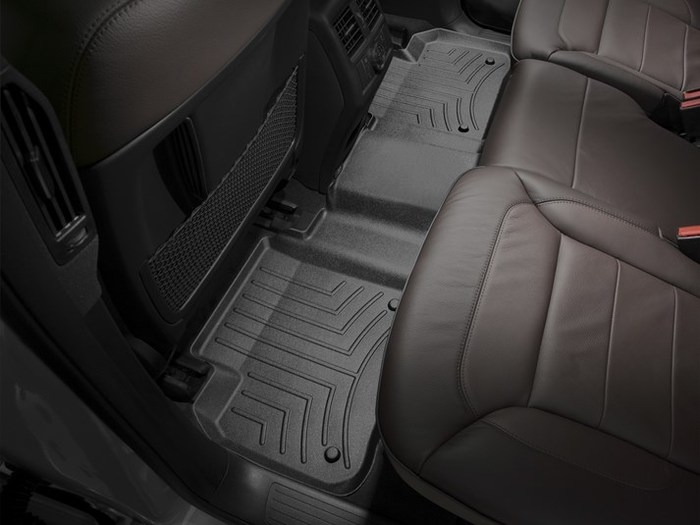 WeatherTech DigitalFit Floor Mats for Mercedes-Benz [Covers Rear, Black] (WEA95033)