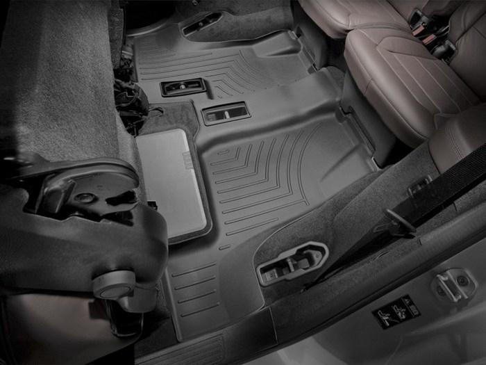 WeatherTech DigitalFit Floor Mats for Mercedes-Benz [Covers Rear, Black] (WEA95034)