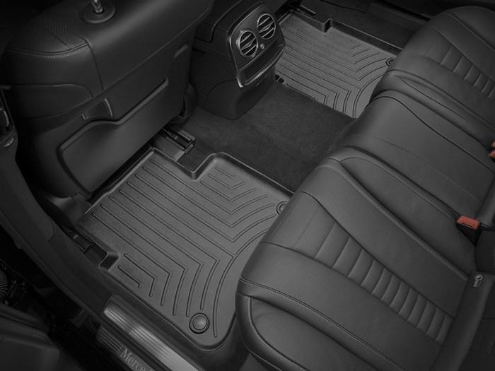 WeatherTech DigitalFit Floor Mats for Mercedes-Benz [Covers Rear, Black] (WEA95439)