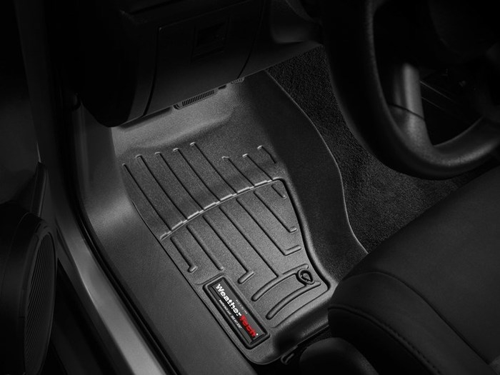 WeatherTech DigitalFit Floor Mats for Nitro/Liberty [Covers Front, Black] (WEA94850)