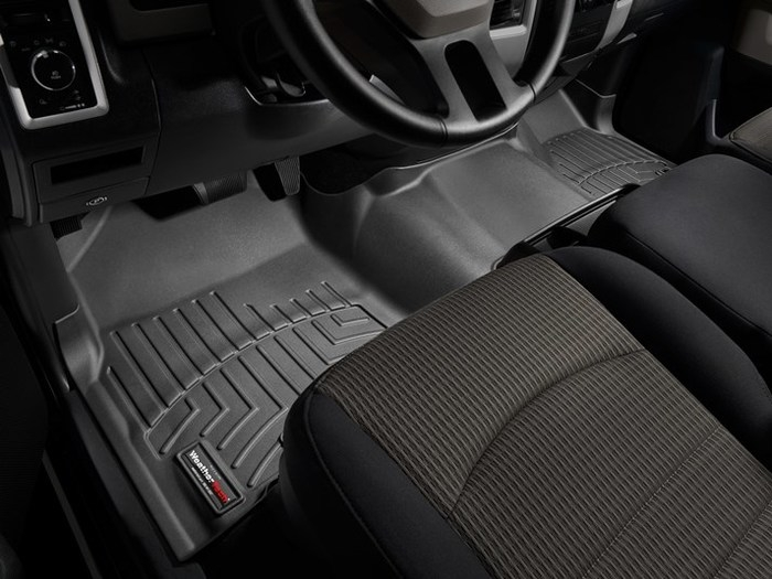 WeatherTech DigitalFit Floor Mats for Ram 1500/1500 [Covers Front, Black] (WEA94871)
