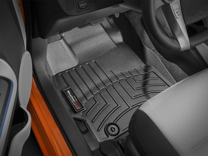 WeatherTech DigitalFit Floor Mats for Scion/Toyota [Covers Front, Black] (WEA95077)