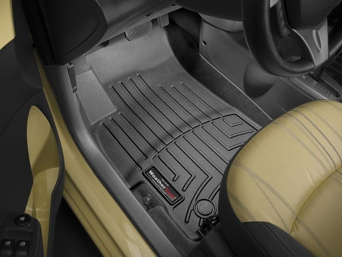 WeatherTech DigitalFit Floor Mats for Spark/Spark EV [Covers Front, Black] (WEA95336)