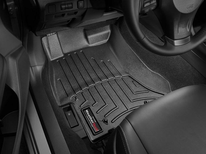 WeatherTech DigitalFit Floor Mats for Subaru [Covers Front, Black] (WEA95123)
