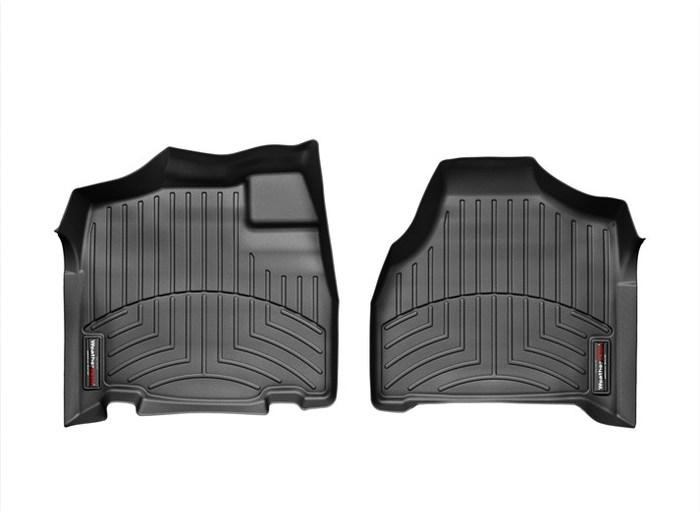 WeatherTech DigitalFit Floor Mats for Town & Country/Grand Caravan [Covers Front, Black] (WEA94948)