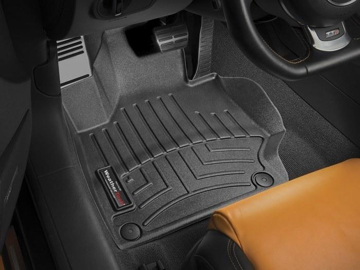 WeatherTech DigitalFit Floor Mats for TT/TT Quattro [Covers Front, Black] (WEA95284)