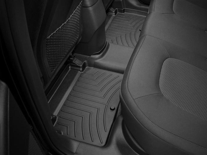 WeatherTech DigitalFit Floor Mats for Tucson/Sportage [Covers Rear, Black] (WEA94752)