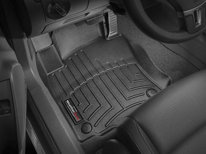 WeatherTech DigitalFit Floor Mats for Volkswagen [Covers Front, Black] (WEA94679)