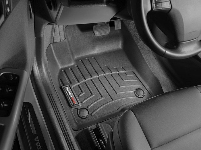 WeatherTech DigitalFit Floor Mats for Volvo [Covers Front, Black] (WEA94713)