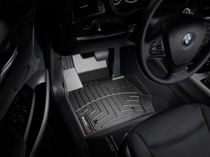 WeatherTech DigitalFit Floor Mats for X3/X4 [Covers Front, Black] (WEA94881)