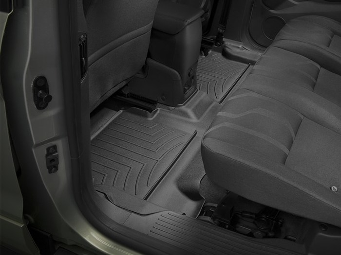 WeatherTech Ford Transit Connect Floor Mats