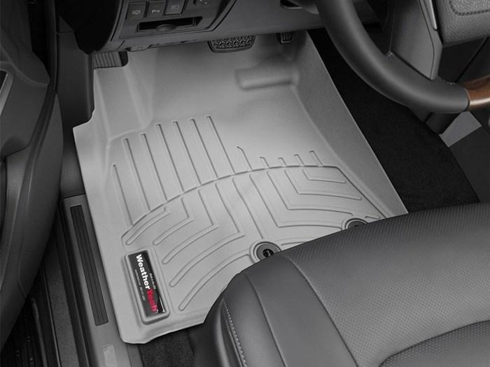 WeatherTech Lexus LX570 Floor Mats