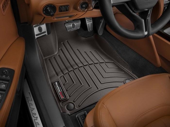 WeatherTech Maserati Quattroporte Floor Mats