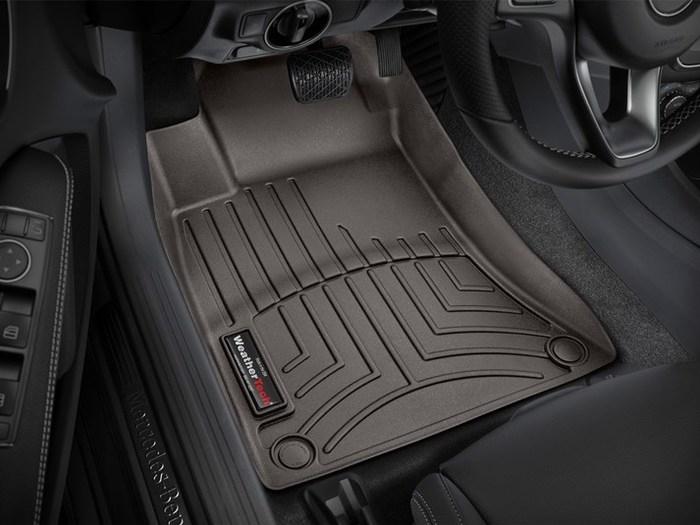 WeatherTech Mercedes-Benz CLA45 AMG Floor Mats