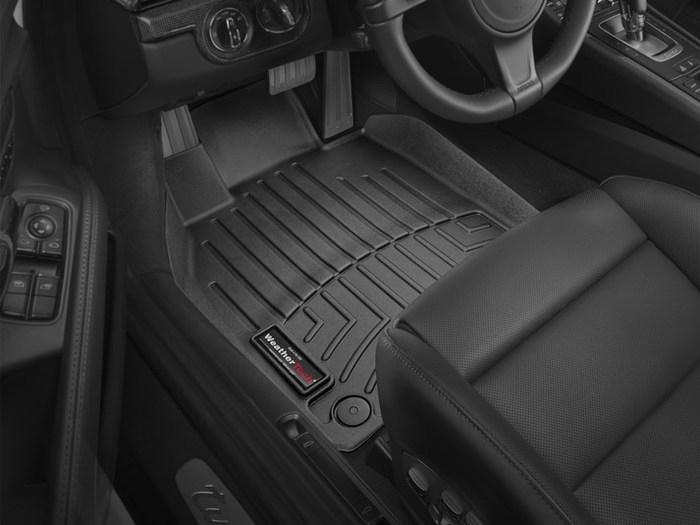 WeatherTech Porsche 718 Cayman Floor Mats