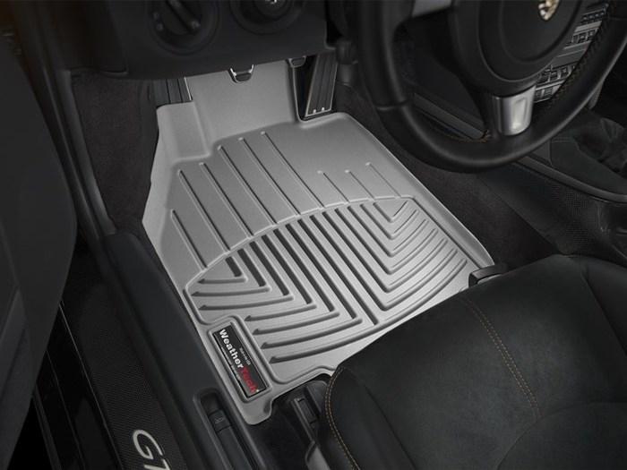 WeatherTech Porsche 911 Floor Mats