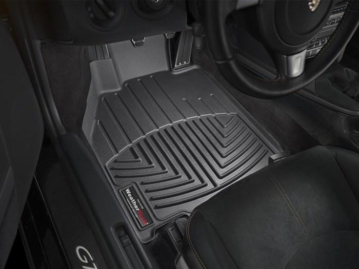 WeatherTech Porsche Boxster Floor Mats