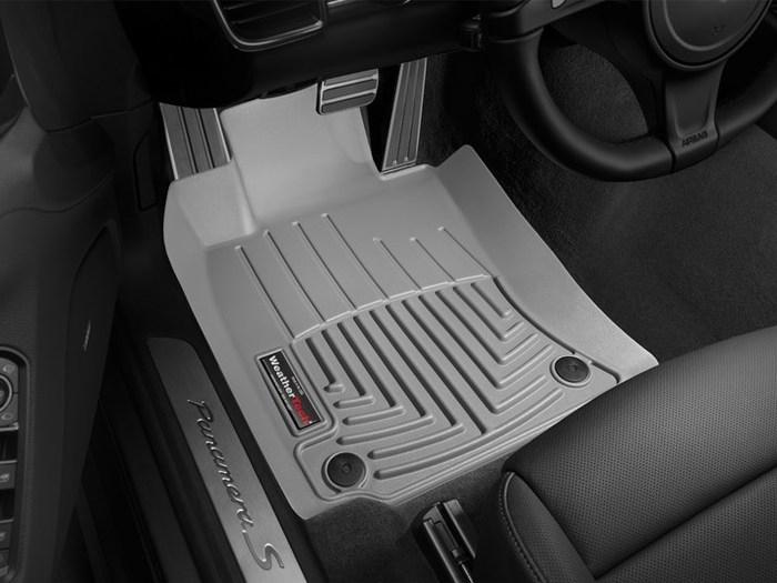 WeatherTech Porsche Panamera Floor Mats