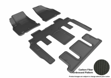 3D MAXpider Buick Enclave Floor Mats