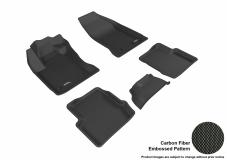 3D MAXpider Fiat 500X Floor Mats