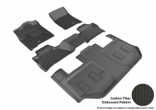 3D MAXpider GMC Yukon XL Floor Mats
