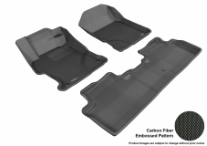 3D MAXpider Honda Civic Floor Mats