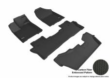 3D MAXpider Honda Pilot Floor Mats