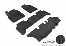3D MAXpider Nissan Armada Floor Mats