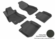 3D MAXpider Subaru Impreza Floor Mats