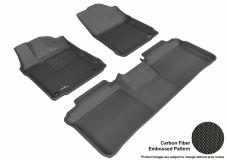 3D MAXpider Toyota Avalon Floor Mats