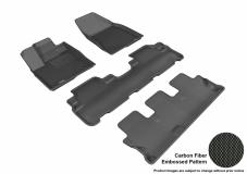3D MAXpider Toyota Highlander Floor Mats