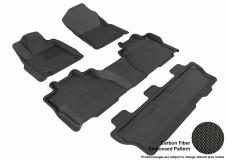 3D MAXpider Toyota Sequoia Floor Mats