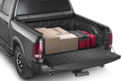 WeatherTech tonneau cover with cargo