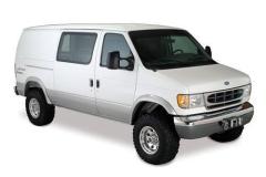 Bushwacker Ford E-150 Econoline Club Wagon Fender Flares