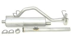 Dynomax Super Turbo Kit Cat-Back Exhaust System