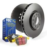 EBC Brakes S13 Yellowstuff and RK Rotors Kit