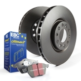 EBC Brakes S20 Ultimax and Plain Rotors Kit