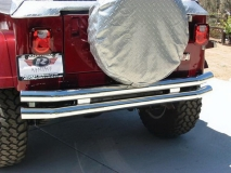 Rampage Jeep Tubular Double Tube Rear Bumpers