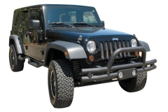 Rampage Jeep Tubular Double Tube Front Bumpers
