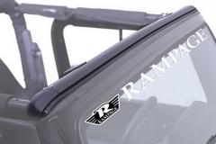 Rampage Jeep Windshield Channels & Headers