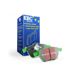 REAR EBC DP21289 GREENSTUFF STREET ORGANIC BRAKE PADS