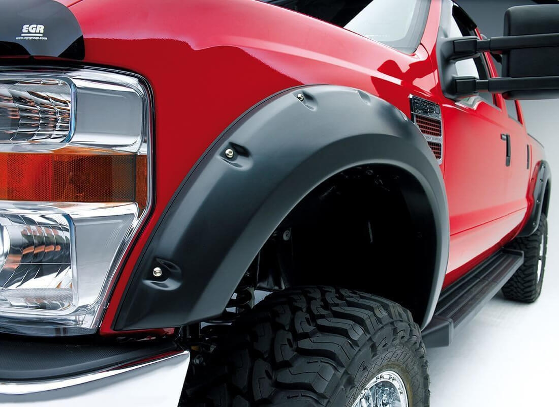 EGR riveted fender flares on large tires