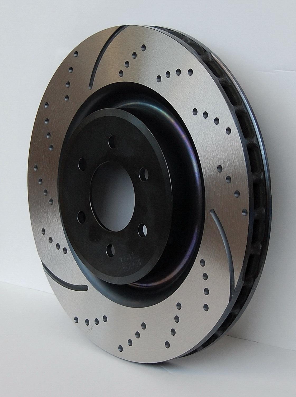 Front EBC Brakes GD7566 Brake Rotor Kit