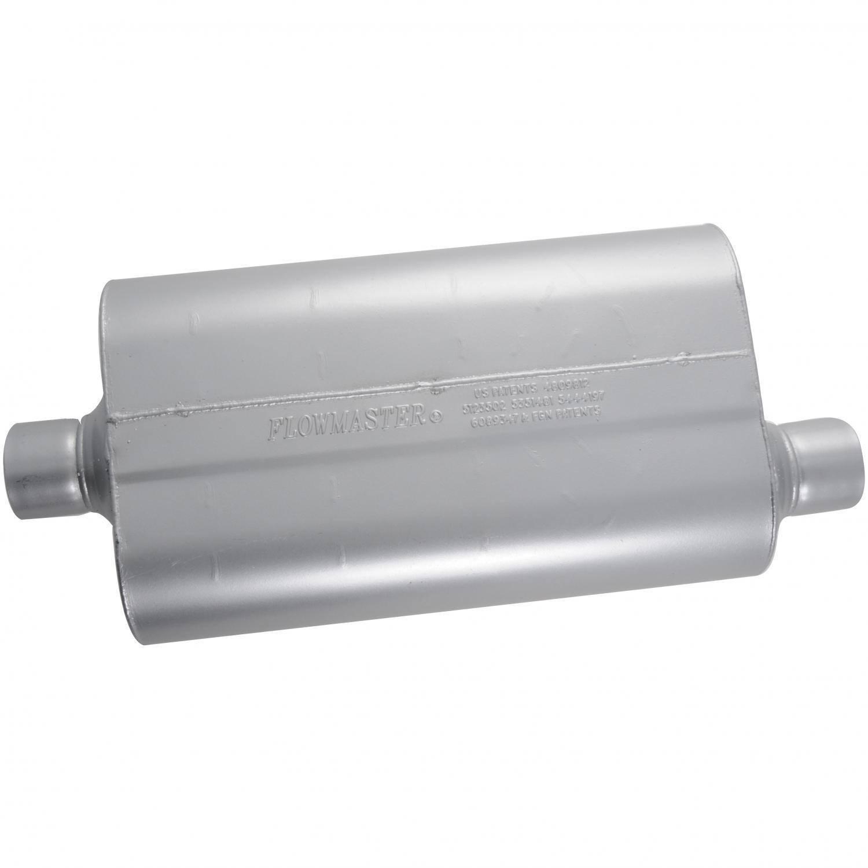 "Flowmaster 53056 Super 50 Series Series Muffler 3/"" Offset Inlet//Center Outlet"
